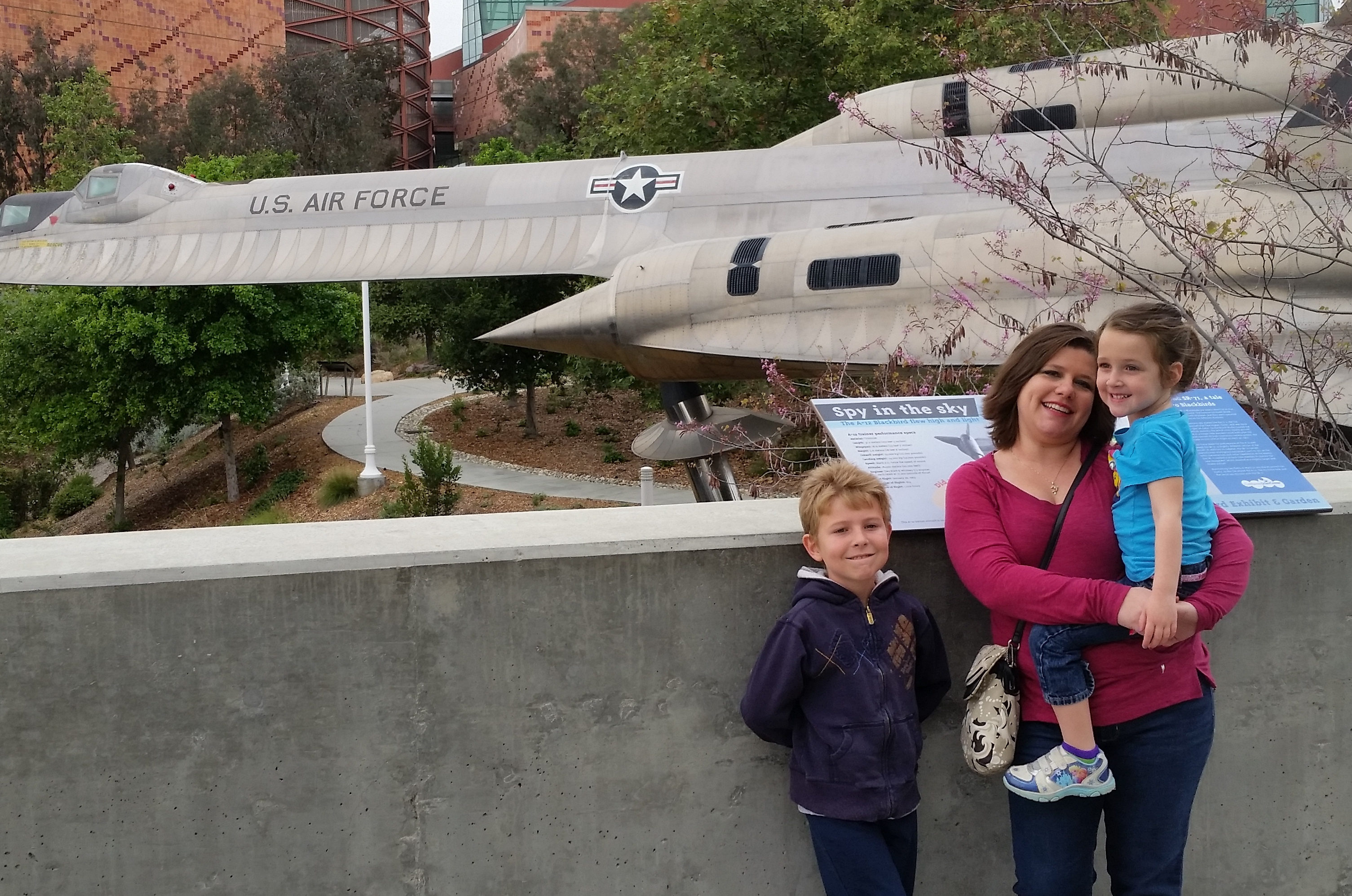 Estate Planning Attorney KC Knox with daughter and son at Science Center